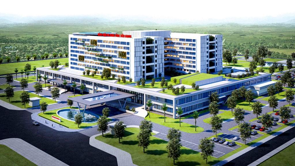 Xây dựng Bệnh viện Đa khoa tỉnh Tiền Giang